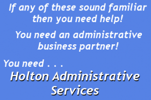 you need holton admin